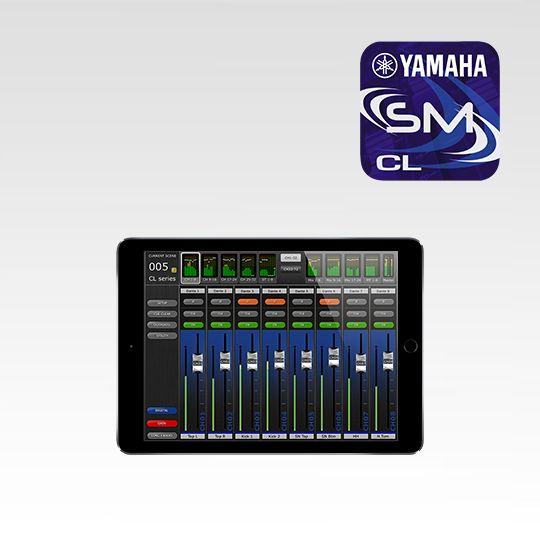 Yamaha Cl Series Software